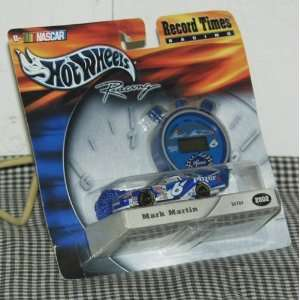2002 Hot Wheels Record Times Racing Nascar #6 Mark Martin Pfizer 164