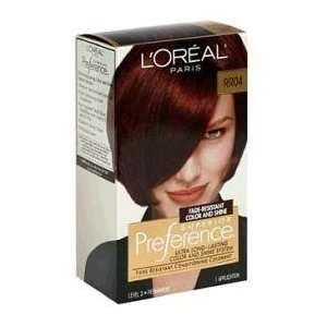 Loreal Superior Preference #RR04 Intense Dark Red KIT