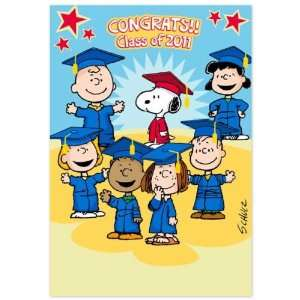 Congrats!! Class of 2011 (Dayspring 5154 8)   Peanuts Graduation Card