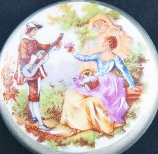 Antique Mens Swiss Pocket Watch Art Nouveau Limoges UHREN RELOJ MONTRE