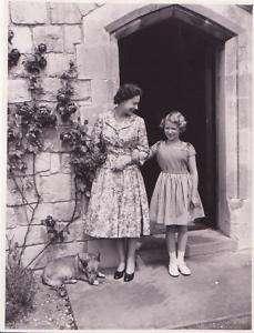 HRH Queen Elizabeth II & Princess Anne, Corgi 1950s