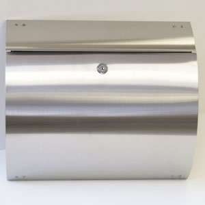 EuropeanHome Stainless Steel Curb Appeal Mailbox
