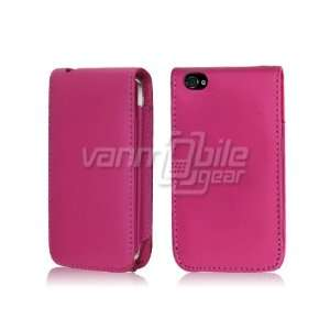 FLIP CASE + LCD SCREEN PROTECTOR for APPLE iPHONE 4