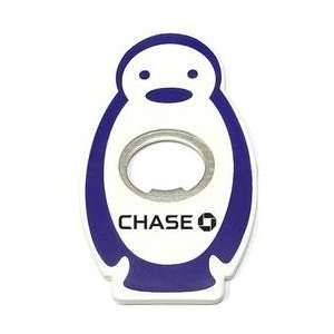 Jumbo size penguin shape magnetic bottle opener