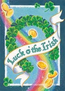 St. Patricks Day Garden Flag by Custom Decor 683963947126