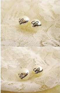 Korean Fashion Imitation Pearl Ball White Elegant Earrings HOT e56