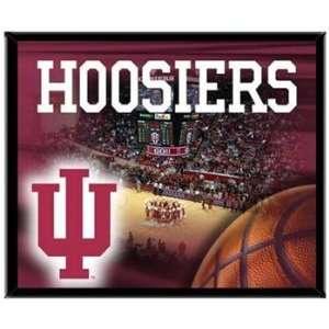 Indiana Hoosiers IU NCAA Basketball 8 X 10 Framed Logo Wall Hanging