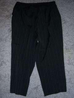 SAG HARBOR womens PLUS size 18W dress pants BROWN