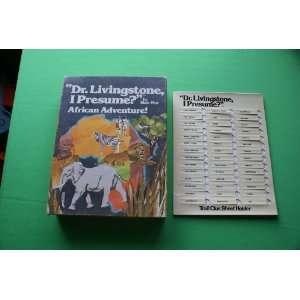 Vintage Board Game Dr. Livingstone, I Presume? African