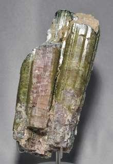 Ruggedly Beautiful Pink & Green Tourmaline Crystal SALE