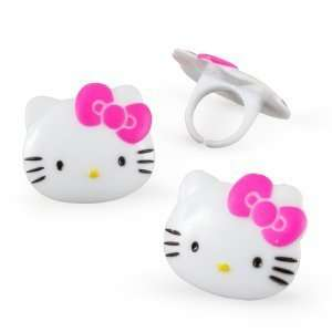 Hello Kitty Rings (8 count)(BS24) Toys & Games