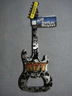 YOU ARE BUYING A BRAND NEW, KISS MAGNET AND BOTTLE OPENER.