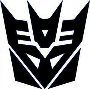 Transformers Decepticon Megatron Car Decal Sticker