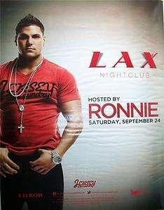 Jersey Shore Ronnie @ Luxor Las Vegas Casino LAX Night Club Ad