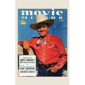 Gene Autry Movie Poster (11 x 17 Inches   28cm x 44cm