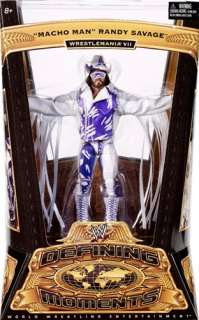 MACHO MAN RANDY SAVAGE WWE DEFINING MOMENTS FIGURE