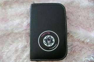 pcs Hello Kitty Makeup Brush Set kits & Faux Leather Case Black