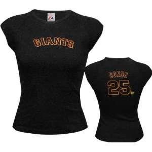 Barry Bonds Majestic Cap Sleeve Name & Number San Francisco Giants