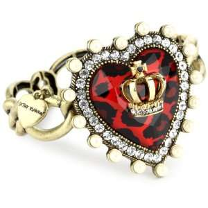 Betsey Johnson Royal Engagement Red Heart Stretch