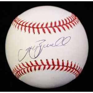 Jeff Bagwell Signed Baseball   Oml Psa dna   Autographed
