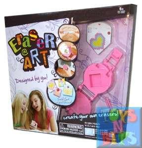 Eraser Maker Deluxe Art Kit Set Kids Craft Design By U