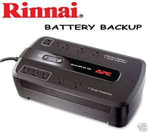 RINNAI   TANKLESS HEATER AUTOMATIC BATTERY BACK UP KIT