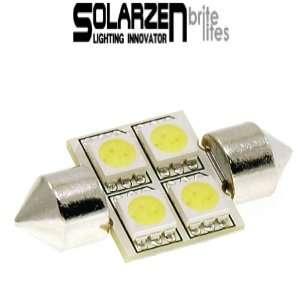 Solarzen 31mm SMD LED Bulb Festoon White Light Lamp