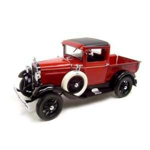 1931 Ford Model A Pickup Truck Red 118 Diecast Model Toys & Games