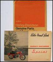 Harley Davidson Aermacchi Sprint Owners Manual Rider Handbook
