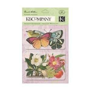 K & Company Flora & Fauna Layered Accents Botanical