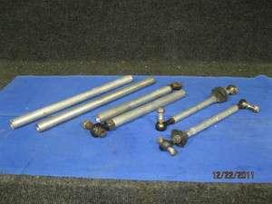 Ski Doo MXZ Formula 583 670 Complete set of aluminum radius rods tie