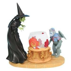 Wizard of Oz Wicked Witch and flying monkeys tealight 8