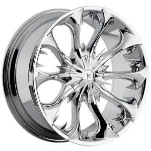22 INCH CHROME MARTIN BROTHERS WHEELS/ RIMS DODGE RAM 1500