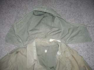 Vintage WWII Field Jacket US Army Men Boys Reenactment 38L