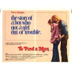 To Find a Man Movie Poster (11 x 14 Inches   28cm x 36cm) (1972