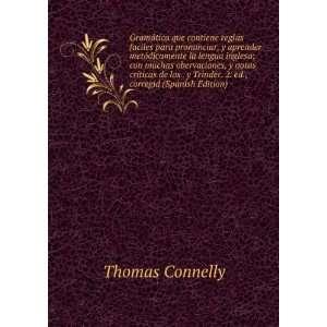 Trinder. 2. ed., corregid (Spanish Edition): Thomas Connelly: Books