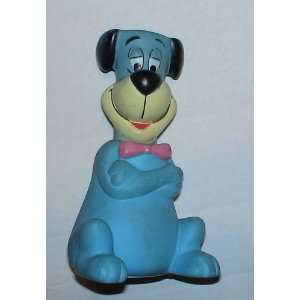 Hanna Barbera 8 Rubber Huckleberry Hound Coin Bank