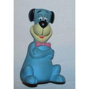 Hanna Barbera 8 Rubber Huckleberry Hound Coin Bank