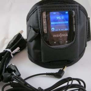 Insignia NS HD01 Portable HD Radio Player w 1.5 LCD Color Screen