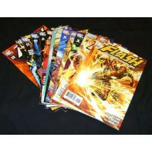 Flash The Fastest Man Alive Complete Comic Book Set #1 13