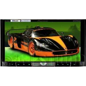 Pioneer AVH P8400BH 2 DIN Multimedia DVD Receiver with 7