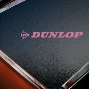 Dunlop Pink Decal Suzuki Yamaha Honda Kawasaki Car Pink