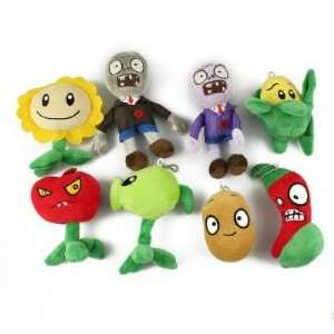 Plants vs. Zombies(PVZ) Stuffed Plush Doll Toy Series
