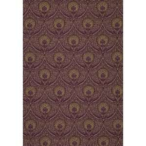 Edwardian Paisley Claret by F Schumacher Fabric: Arts