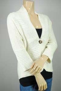 NEW Jones New York 1 Button Cardigan Sweater $99 PS M L