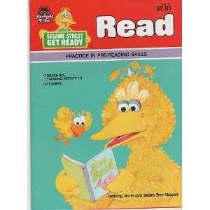 Sesame Street Get Ready Read (Practice in pre reading skills): Books