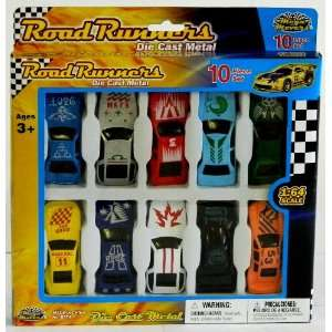 Road Runners Die Cast Metal 164 Scale Cars Toys & Games