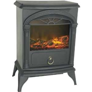 Fire Sense Vernon 1350 Watt Electric Stove Fireplace Home