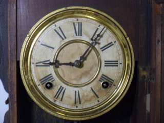 Welch Kitchen 8 Day Antique Shelf Clock