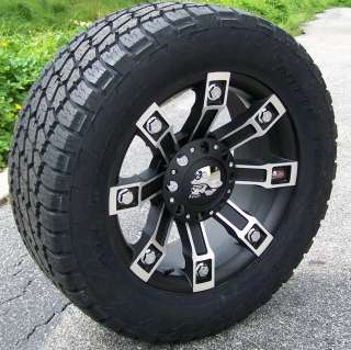 20 METAL MULISHA WHEELS & NITTO TERRA GRAPPLERS 8X180
